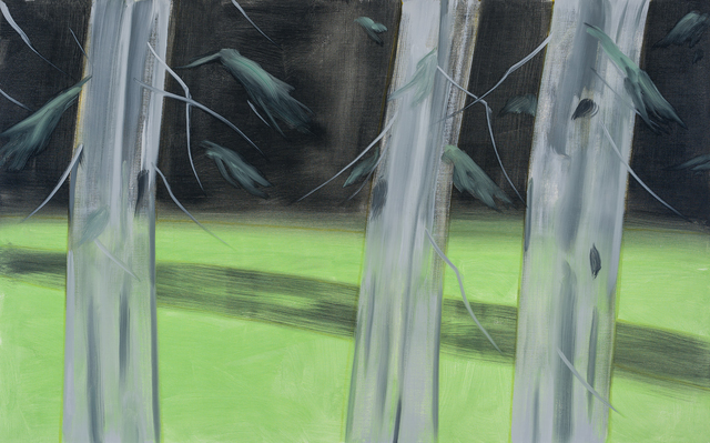 Alex Katz, 'Three Trees', 2018, Newzones