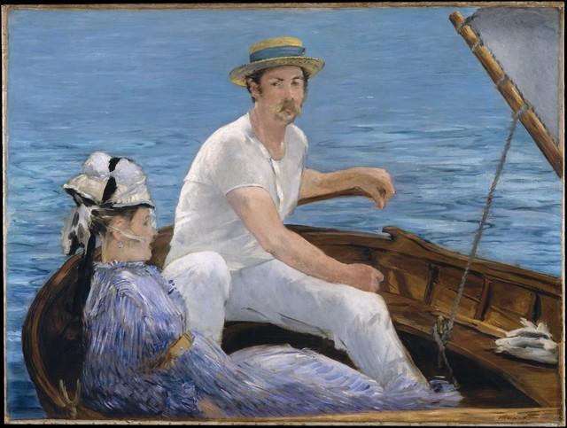 Édouard Manet, 'Boating', 1874, The Metropolitan Museum of Art