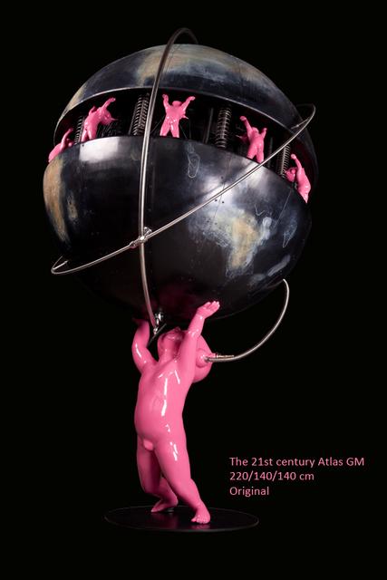 Pierre Matter, 'The Twenty First Century Atlas', 2018, AFA Gallery