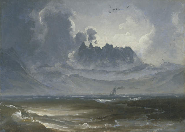 , 'The Mountain Range 'Trolltindene',' about 1845, The National Gallery, London