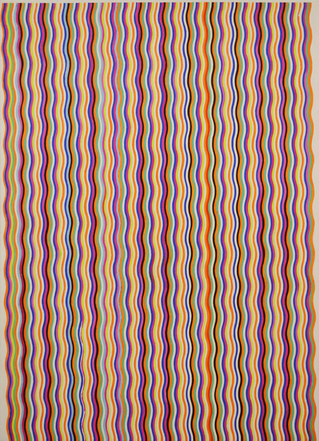 , 'Stripe Painting-Cola,' 2017, Aki Gallery