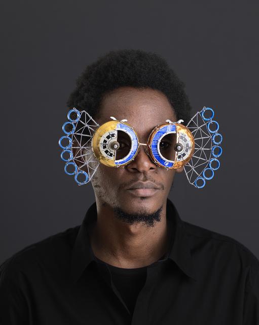 , 'Njia Ya Maisha, Macho Nne Egyptian Peacock,' 2015, SMAC