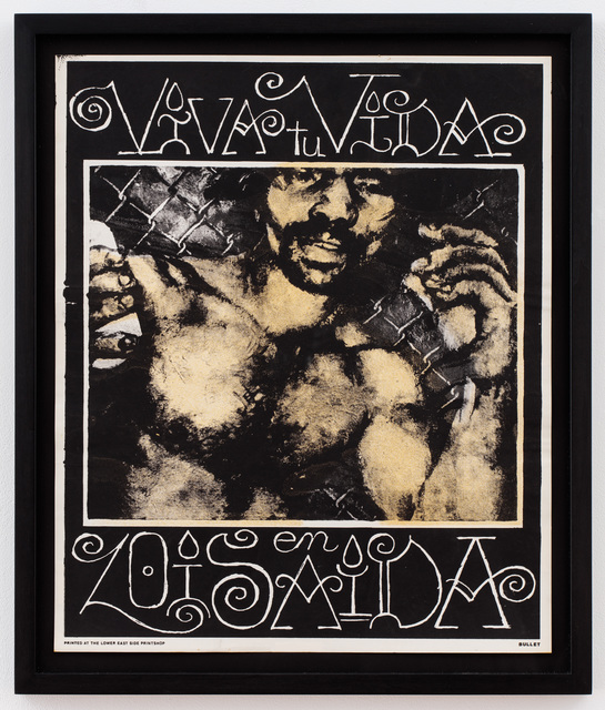 , 'Viva tu Vida (Print for Bullet - Your House is Mine),' 1988, P.P.O.W