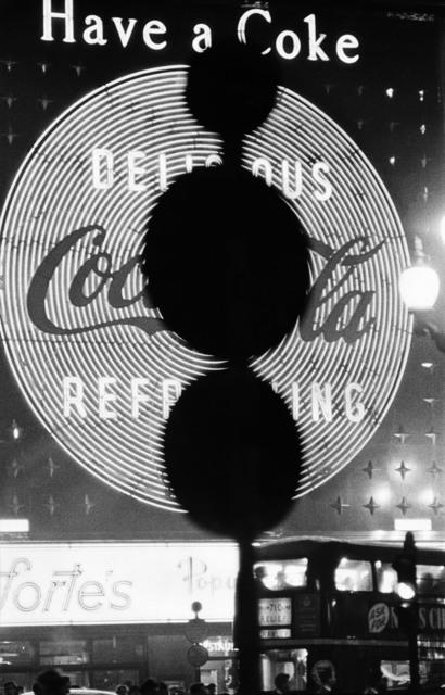 William Klein, 'Piccadilly, London (Have a Coke) ', ca. 1960, HackelBury Fine Art
