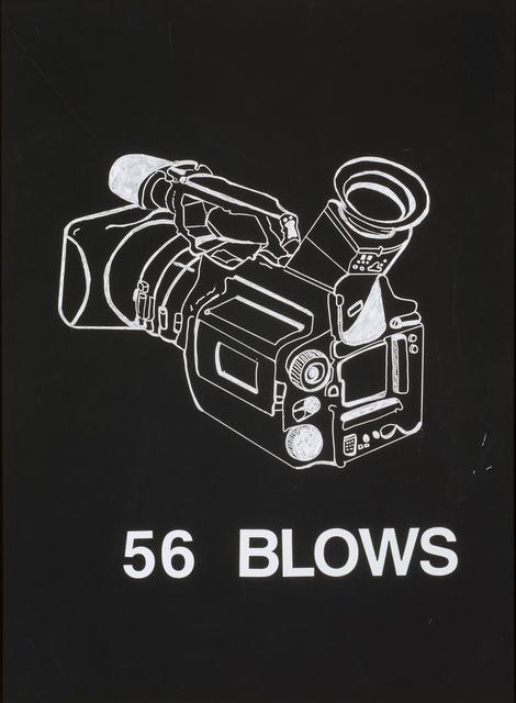 ", '56 Blows from ""Blackboard"" series,' 2003, The Studio Museum in Harlem"