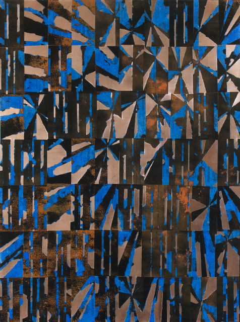 , 'Brickyard Blues,' 2018, Octavia Art Gallery