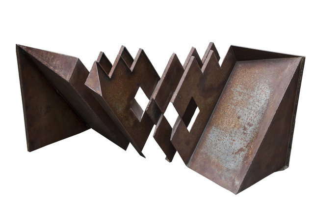 Eduardo Ramírez -Villamizar, 'Untitled', 2000, Sculpture, Oxidized iron, Leon Tovar Gallery