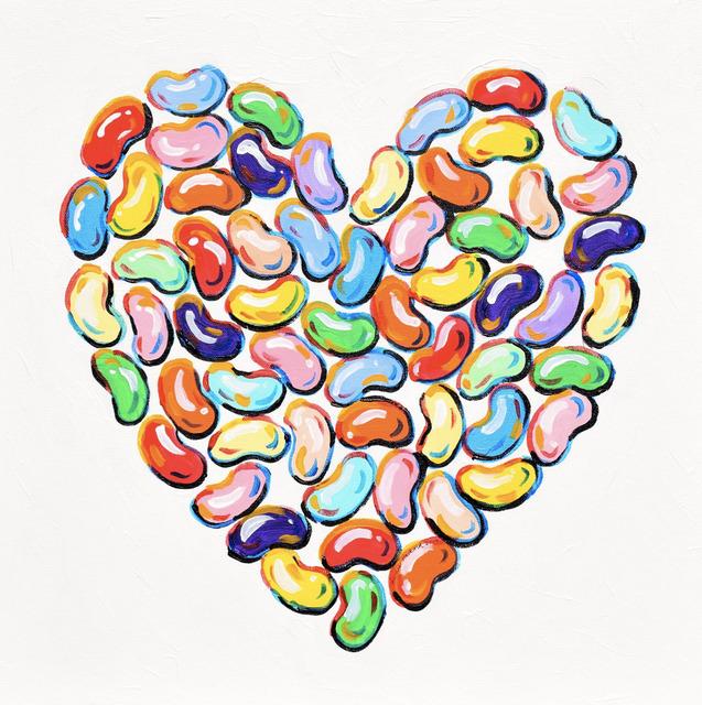 Leslie Hackard, 'Jelly Bean Heart', Tim Collom Gallery