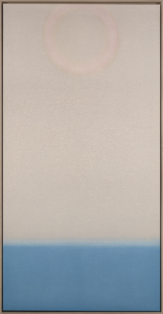 , 'Untitled (Pale/Blue Vertical),' 2018, Berry Campbell Gallery