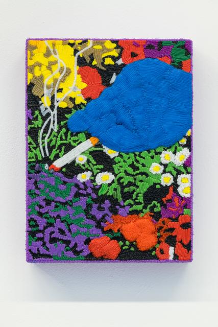 , 'Fag ash folly,' 2018, Annka Kultys Gallery