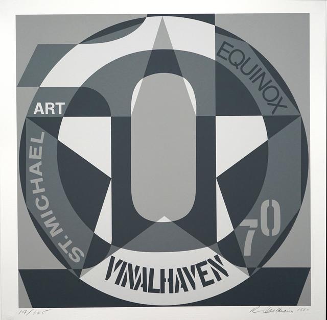 Robert Indiana, 'DECADE: Vinalhaven Suite Autoportrait #0: VINALHAVEN', 1980, Pascal Fine Art