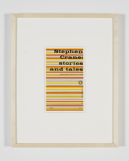 Steve Wolfe, 'Untitled (Study For Stephen Crane: Stories and Tales)', 2008-2010, Luhring Augustine