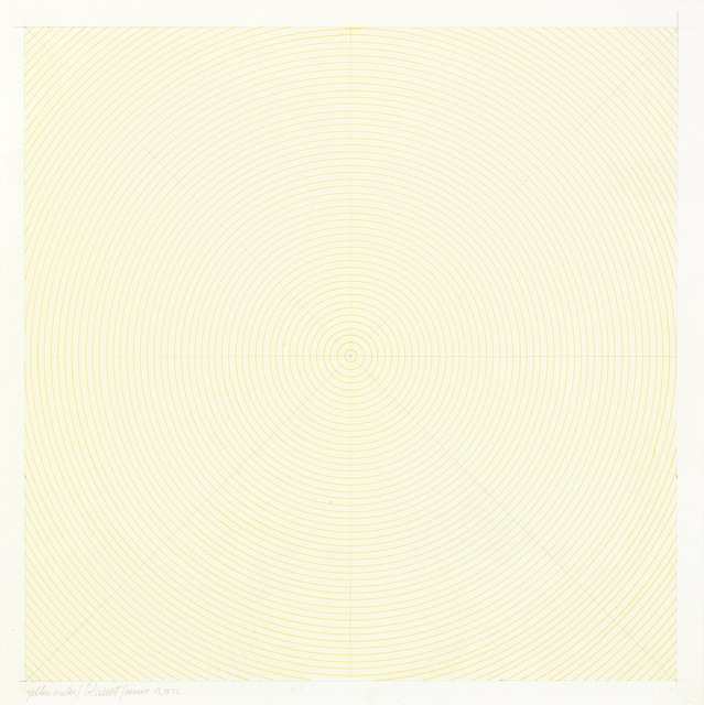 , 'Yellow Circles,' 1972, James Barron Art