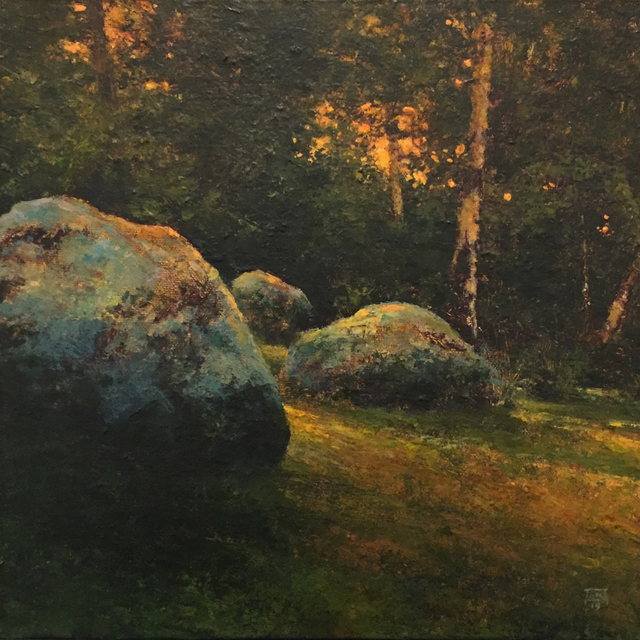 Shawn Krueger, 'Field and Stone Study 2', 2019, Abend Gallery