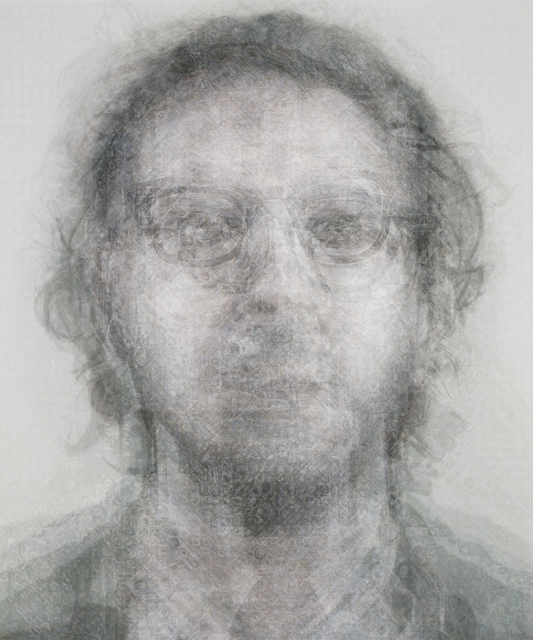 Doug Keyes, 'Chuck Close, B&W', 2014, G. Gibson Gallery