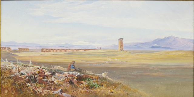 , 'Campagna di Roma, the Alexandrine Aqueducts,' 1860, DICKINSON