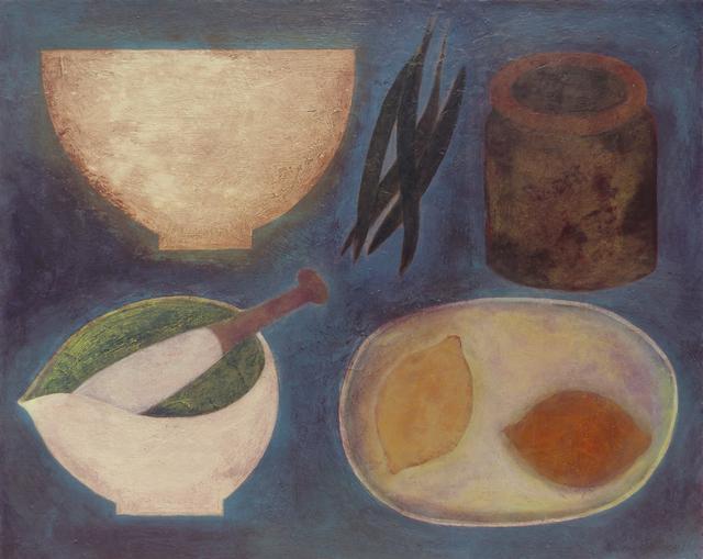 , 'Cornish Kitchen with Lemons,' 2018, Thackeray Gallery
