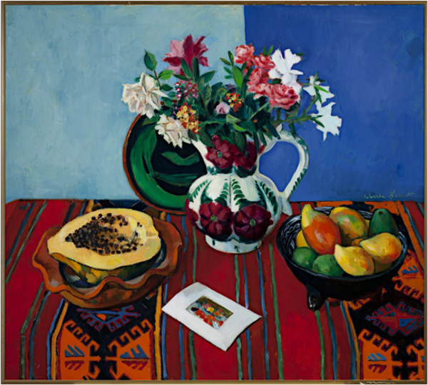 , 'Papaya & Mexican Pitcher,' 1981, David Barnett Gallery