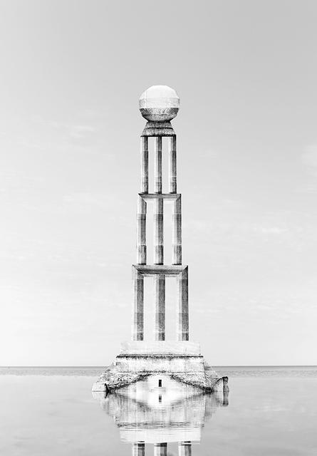 , 'Tower I,' 2015, Galerie Les filles du calvaire