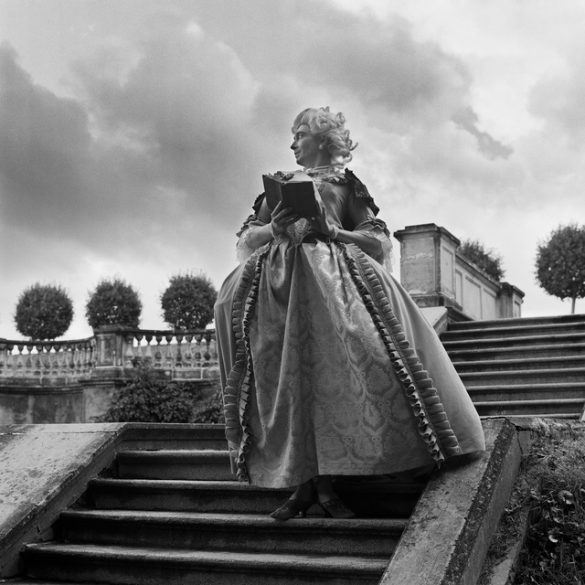 , 'Catherine II reading Voltaire before the rain,' 2005, Frolov Gallery