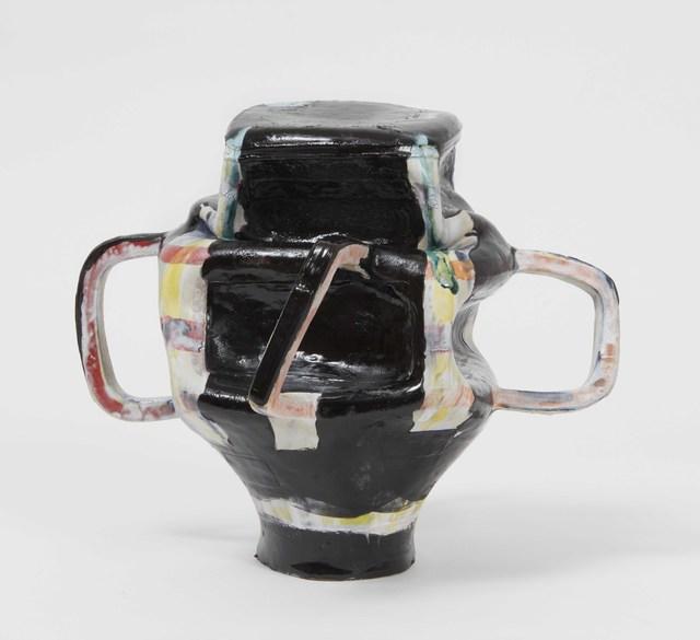 , 'Black Plaid,' 2018, James Cohan