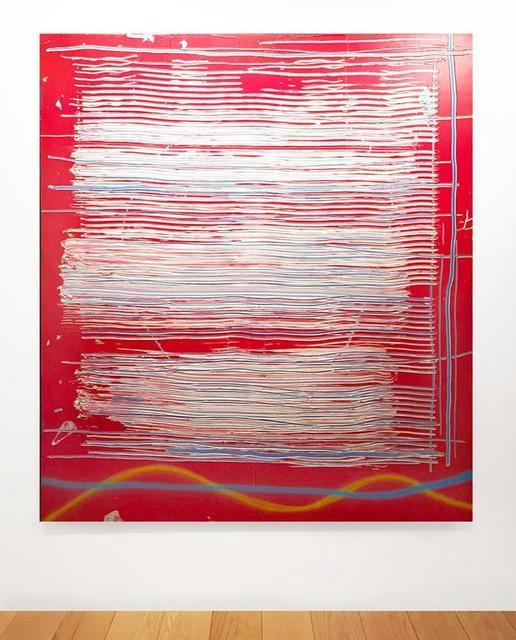 Dan Christensen, 'Liberty', 1987, Painting, Acrylic on Canvas, Leslie Feely