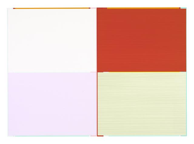 Imi Knoebel, 'Lilli Red Ed.', 2001-2011, Galerie Fetzer