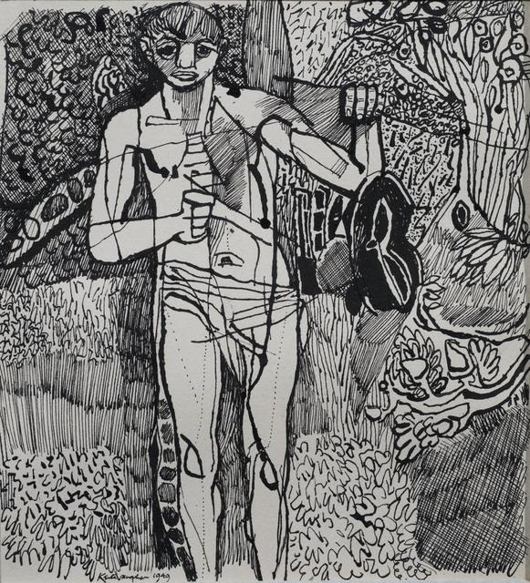 , 'Standing Figure,' 1949, Osborne Samuel