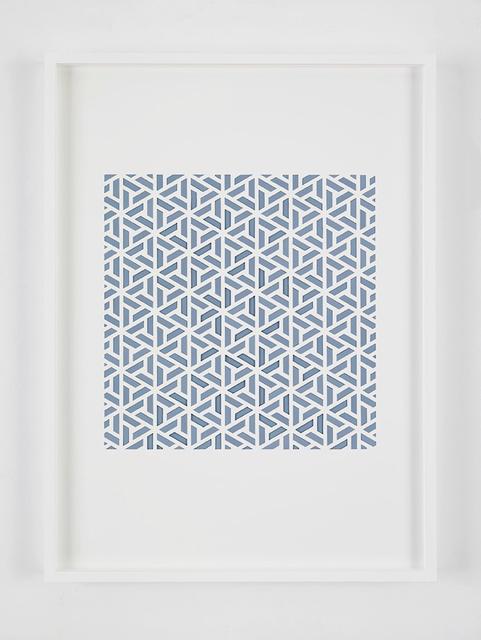 , 'Handmade: Sem título # 10 (Blue) ,' 2016, Galeria Nara Roesler