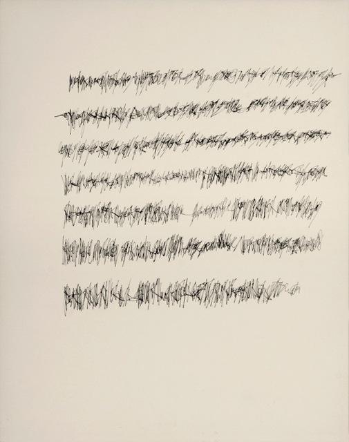 , 'Imagen 9 (lectura vertical, grafismo tipo firma), s.d.,' ca. ca. 1970, Henrique Faria Fine Art