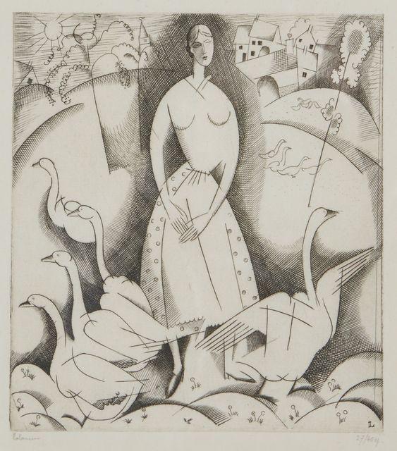 , 'La Filles aux oies,' 1916, Childs Gallery