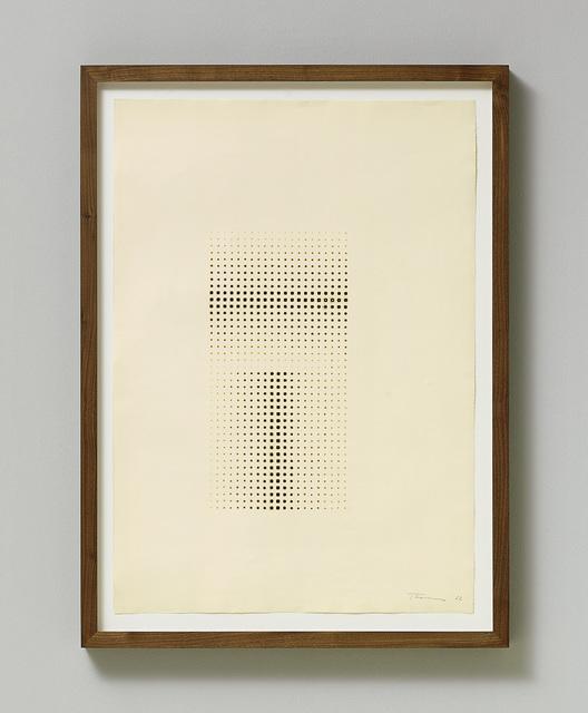 , 'Fire Drawing,' 1962, Galerie Koch