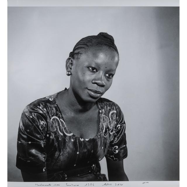 Malick Sidibé, 'Mademoiselle Omi Tounkara', 1976, PIASA