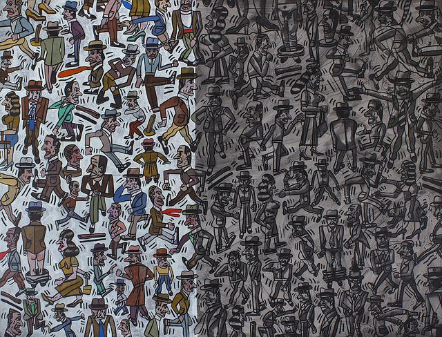, 'Sin Fundamentos,' 2002, Roldán Moderno