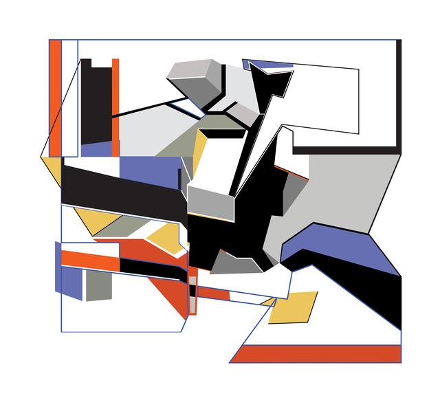 , 'Noción transversal,' 2016, Lux Perpetua Art Centre