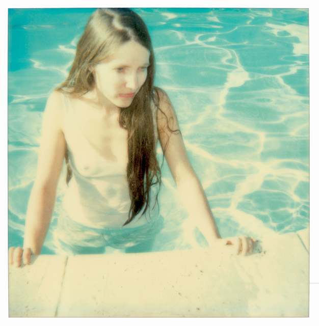 Stefanie Schneider, 'Pool Side (29 Palms, CA)', 1999, Photography, Analog C-Print, hand-printed by the artist on Fuji Crystal Archive Paper, based on a Polaroid, not mounted, Instantdreams