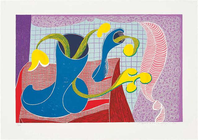 David Hockney, 'Four Flowers in Still Life', 1990, Phillips