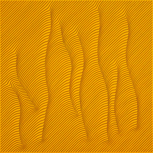 , 'Warm Yellow,' 2014, The Bonfoey Gallery