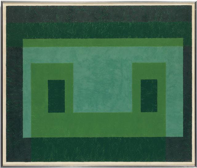 , 'Contented Green,' 1948-1955, Schacky Art & Advisory
