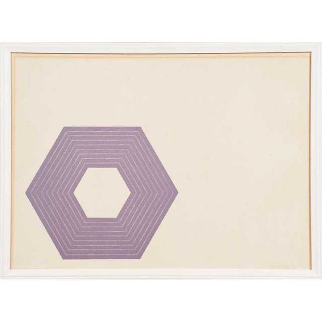 Frank Stella, 'Sidney Guberman', 1972, DANE FINE ART