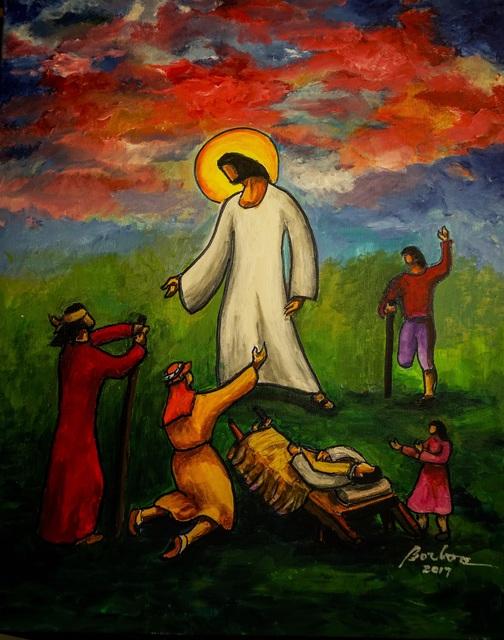 , 'Jesus Heals 耶穌治愈,' 2017, Artrue Gallery