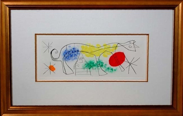 Joan Miró, 'Erik Satie (Poems and songs) # 687', 1969, Baterbys