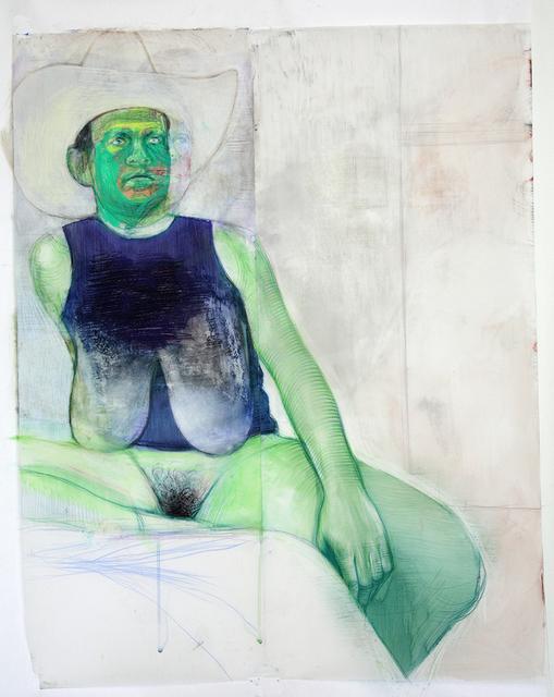 , 'Green Cowboy,' 2017, C24 Gallery