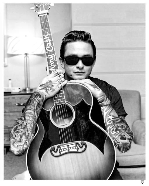 JJ Adams, 'Johnny Cash', 2013, Reem Gallery