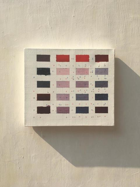 , 'Colour study for Mechanisms,' 2019, Nature Morte