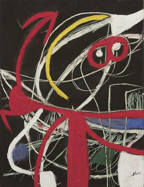 Joan Miró, 'Femme, oiseaux', 1976, Rosenfeld Gallery LLC