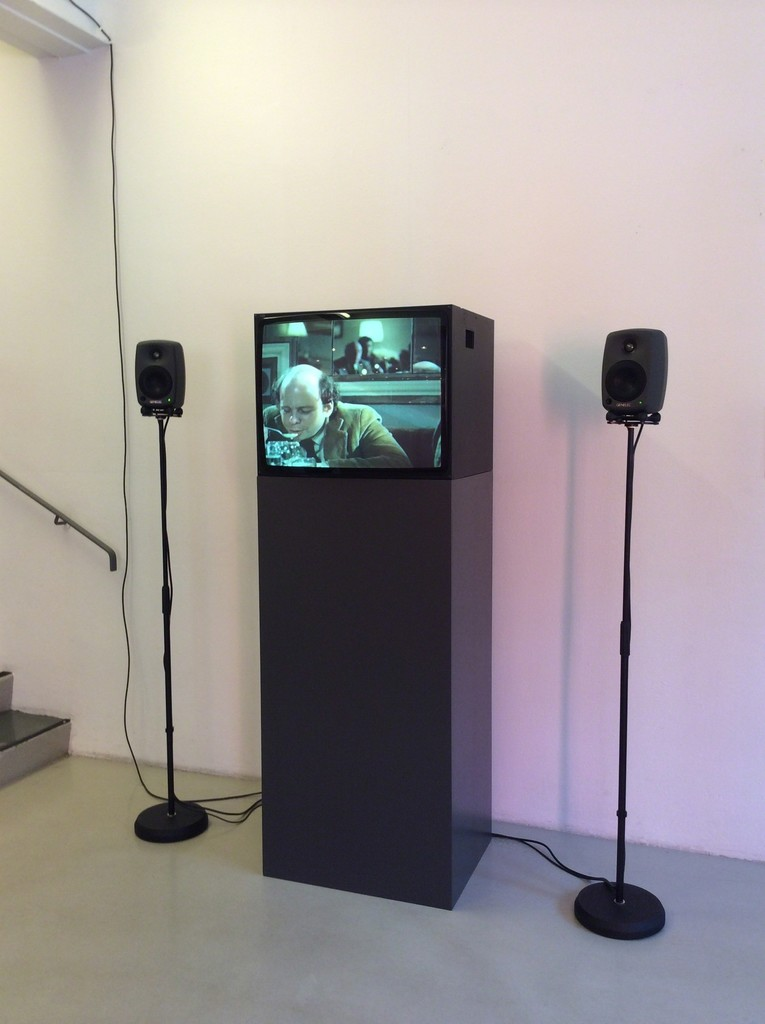My Silence on show at Moderna Museet Malmo, Sweden, 2014. Single channel video installation.