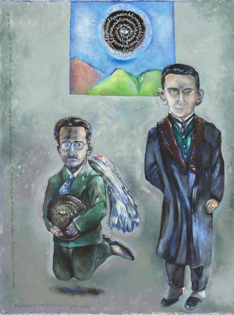 , 'Punishable innocents (Benjamin and Kafka),' 2013, Stevenson