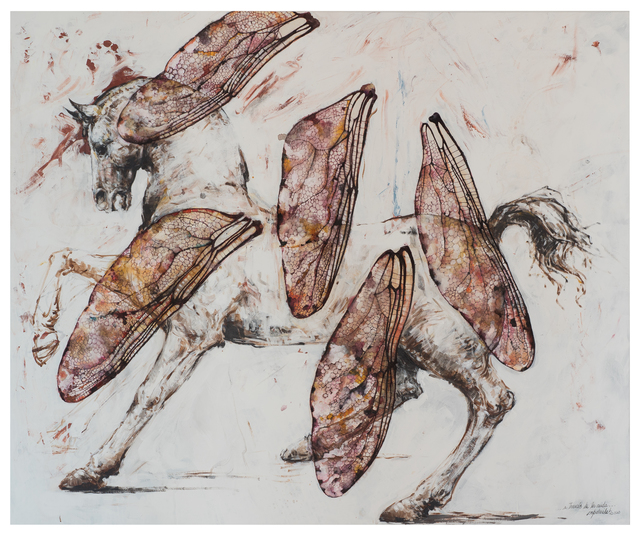 Ernesto Capdevila, 'A través de la caída', 2020, Painting, Acrylic on canvas, JCamejo Art