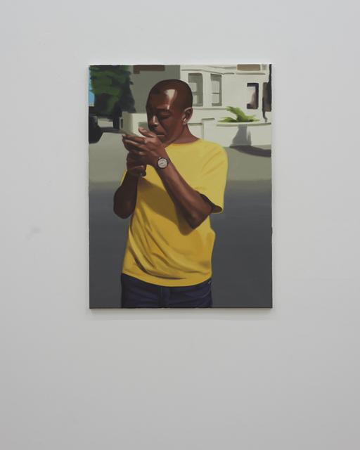 , 'Jason Smoking,' 2016, David Risley Gallery